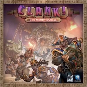 Clank! Uitbreiding: The Mummy's Curse (EN)