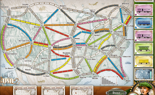 Ticket To Ride Ipad Review Board Game Quest