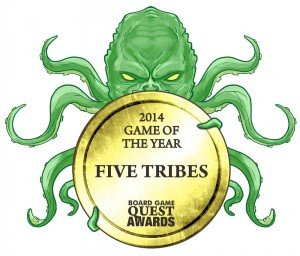 Five Tribes Game of the Year