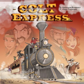 Colt Express in limba romana de la Ideal Board Games
