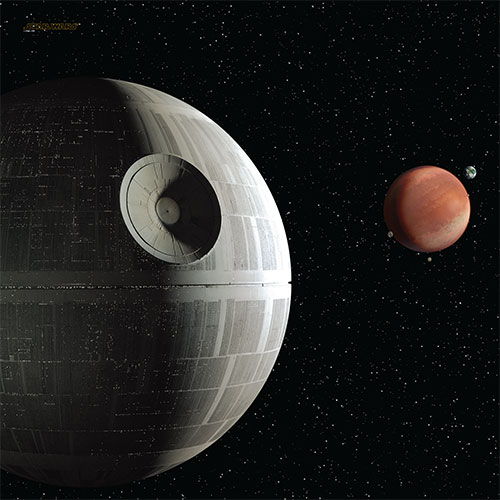 Playmat-uri pentru Star Wars X-Wing si Star Wars Armada Death Star Assault