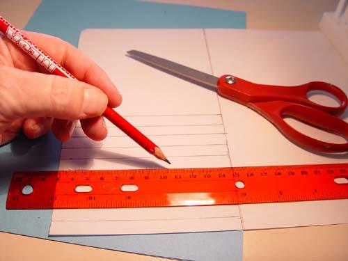 Scissors Ruler Paper
