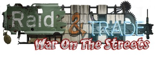 War on the streets-Raid and Trade logo