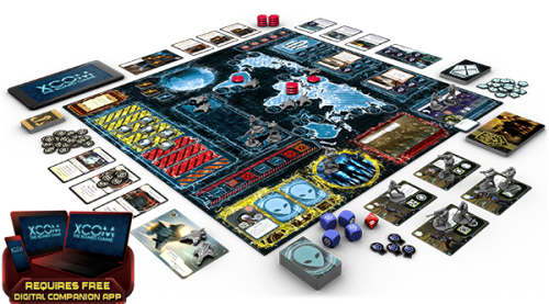 XCOM The Board Game-Display componente