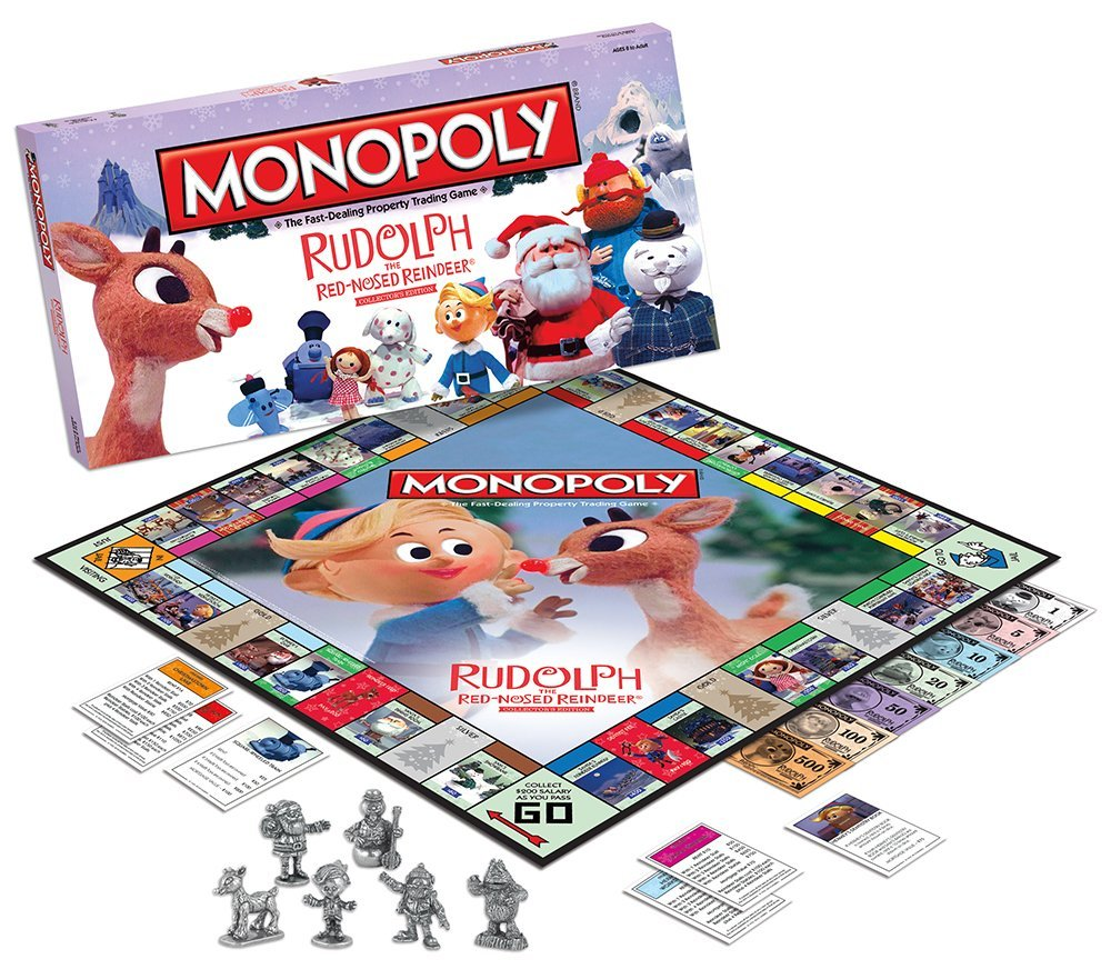 Monopoly Rudolph The Red Nosed Reindeer Collectors