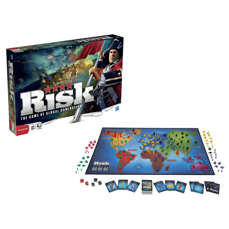 Risk Classic Board Game  Board Games Messiah