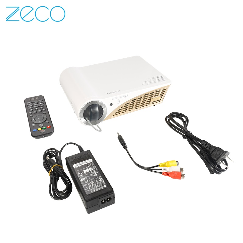 Zeco CX5S wifi wireless home theater projector HD 1080p 3D