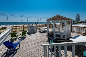 Sundeck 2 at New Jersey Oceanfront Hotel | Bordwalk Charlee Hotel