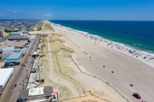 Aeriel View 5 of New Jersey Oceanfront Hotel | Bordwalk Charlee Hotel