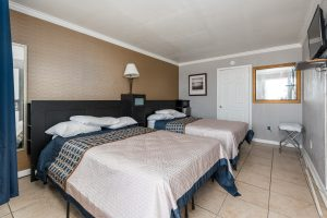 Two Double Beds Guestroom at Oceanfront Hotel | Bordwalk Charlee Hotel