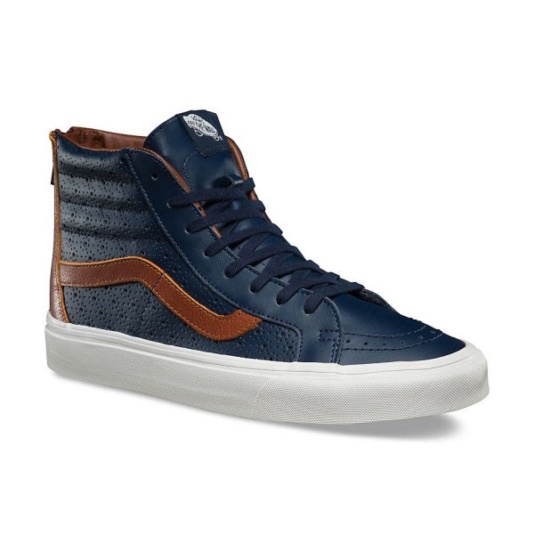 Vans Perf Leather with Zipper