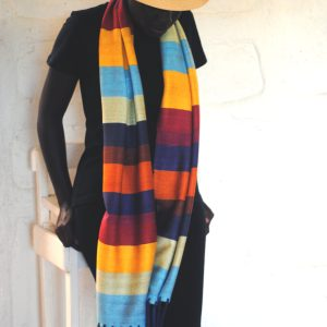 Joseph Brights Bamboo Scarf By Tsandza Weaving