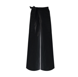 Pants linen Black BY Guillermo Jester