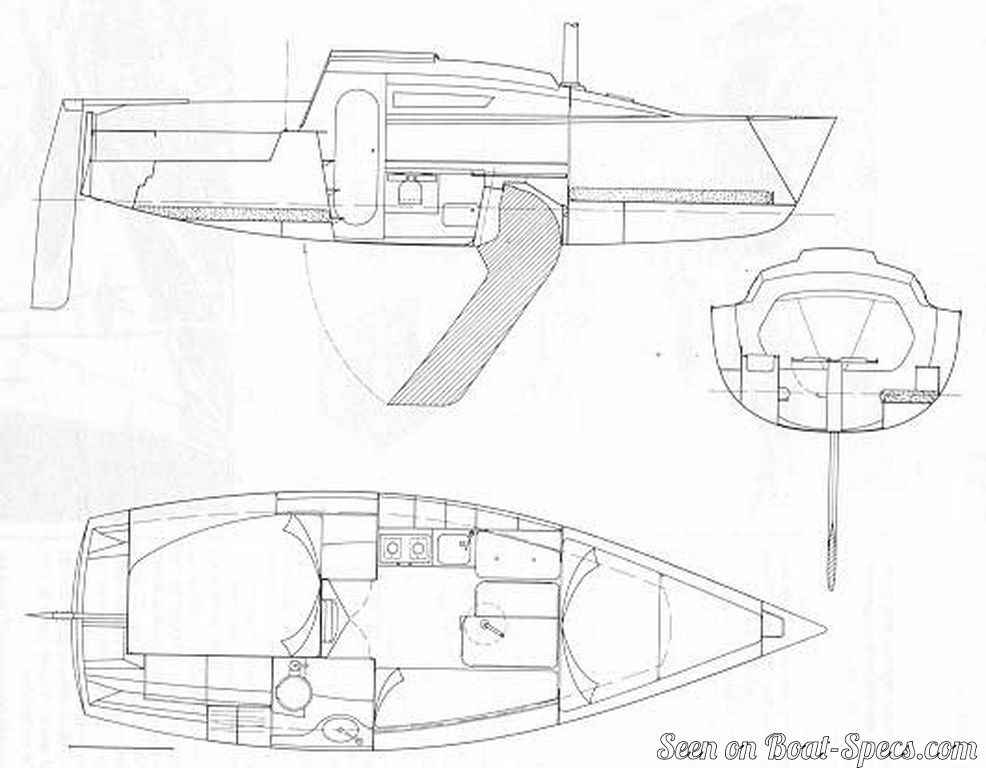 First 24 (Bénéteau) sailboat specifications and details on