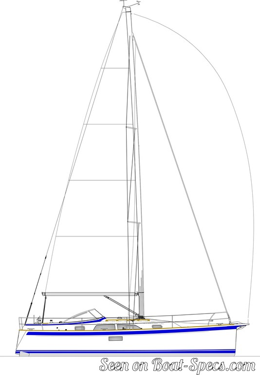 Hallberg-Rassy 340 sailboat specifications and details on