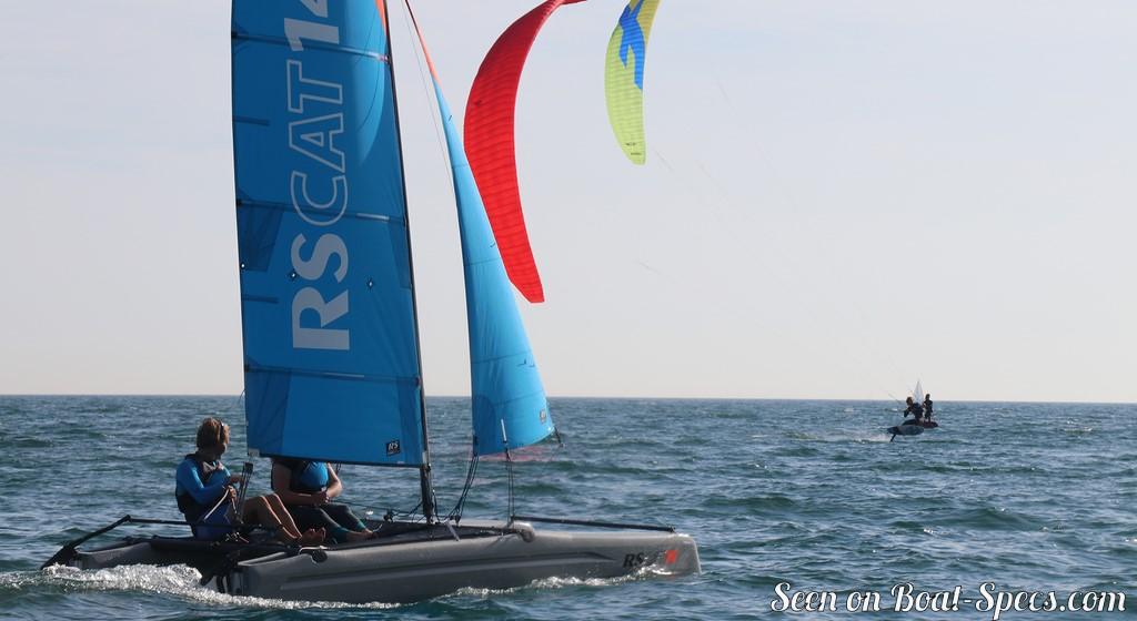 RS Cat 14 club (RS Sailing) - Fiche technique de voilier sur Boat-Specs.com