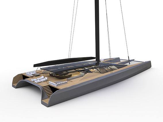 BLACKCAT THE FUTURE OF LUXURY SAILING CATAMARANS 100