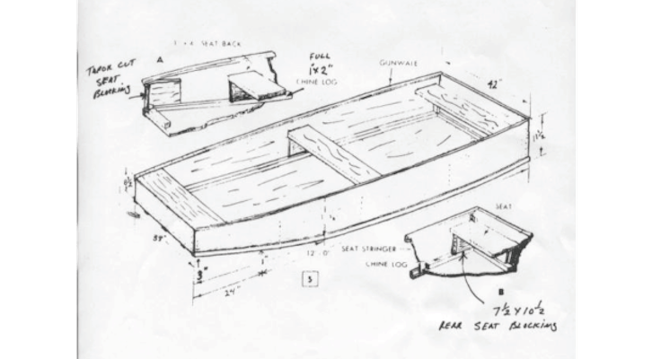 boat layout plans
