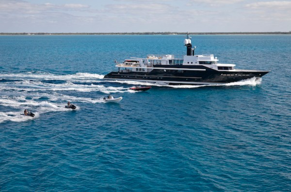 HIGHLANDER The Most Powerful Super Yacht in the World