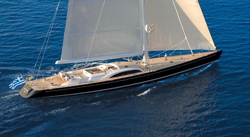 Luxury Crewed Sailing Yacht ARISTARCHOS Nautors Swan 131