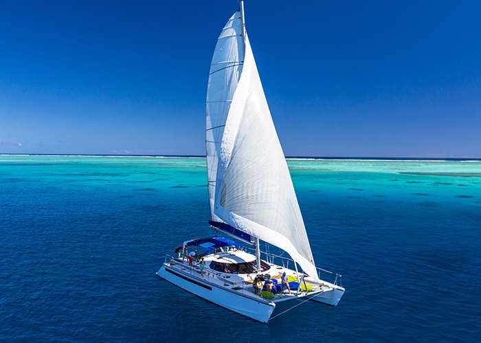 Luxury Crewed Catamaran Custom 53 3 Cabins Fiji South