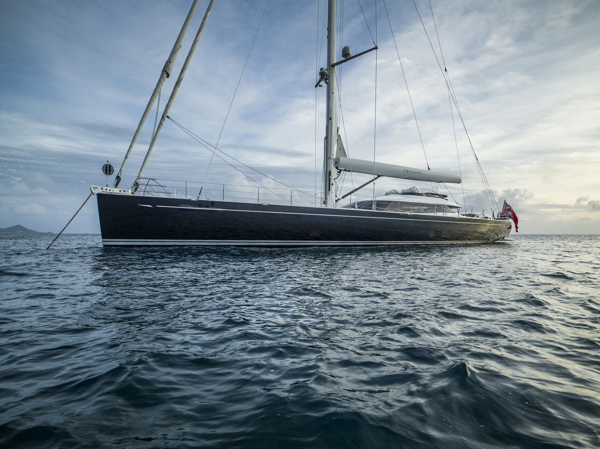 Luxury Crewed Sailing Yacht TWILIGHT Oyster 125 4