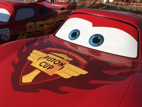 Disney Magic at the Boatbreakers Yard - Lightning McQueen Cars in for scrap