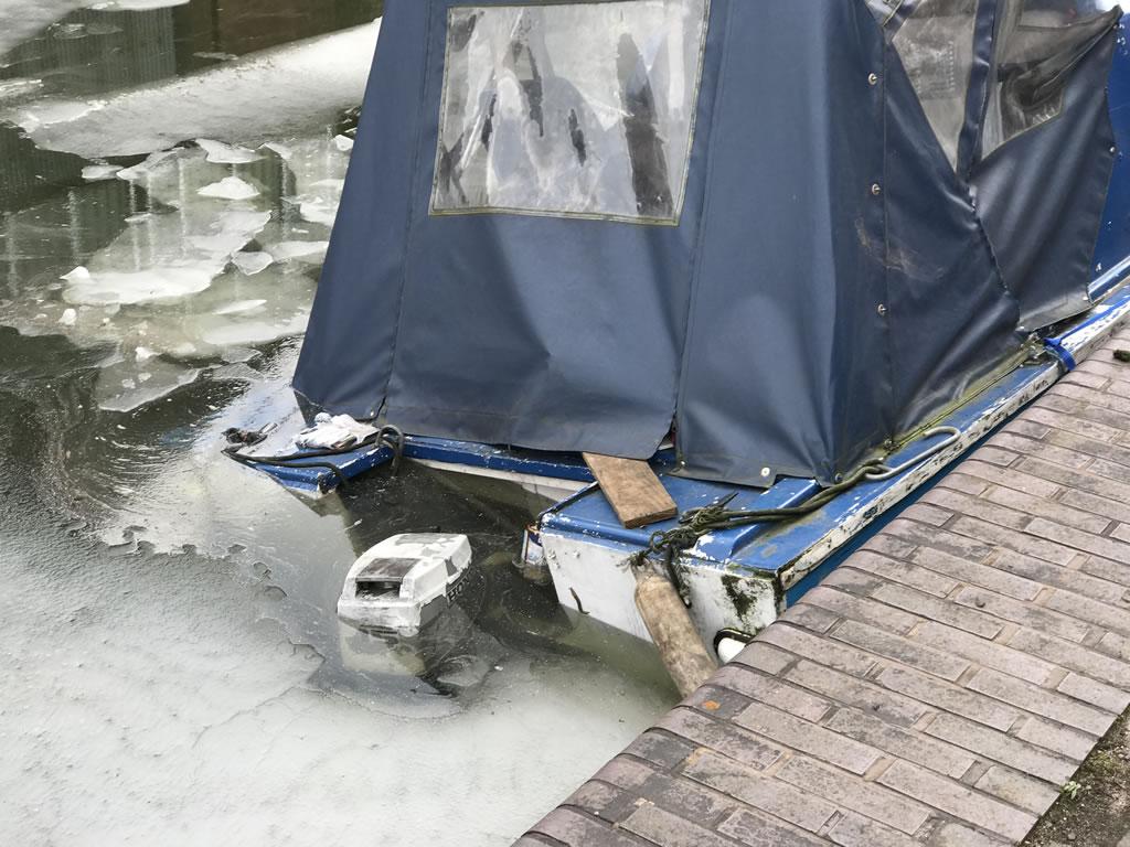 Sunken Boat in Birmingham