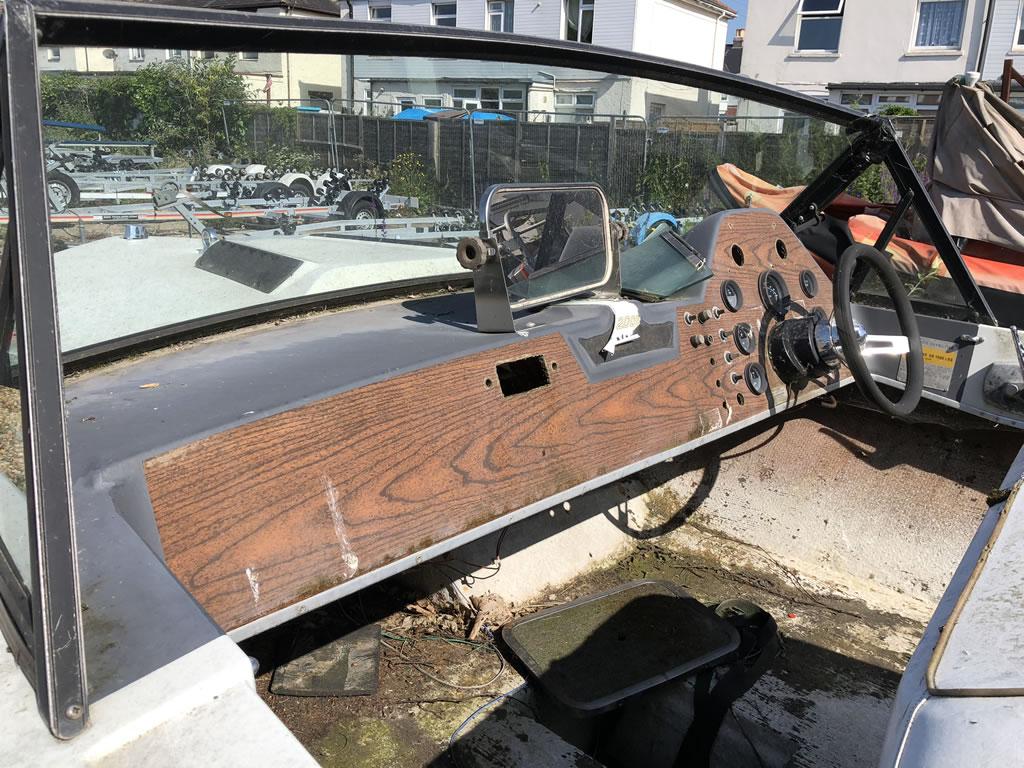 Scrap Ski Nautique Speedboat