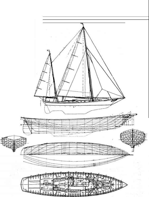 Designs by L Francis Herreshoff and Jay E Paris Jr