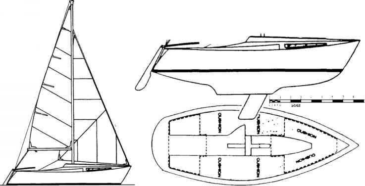 A powerboat builder ventures briefly into sailing