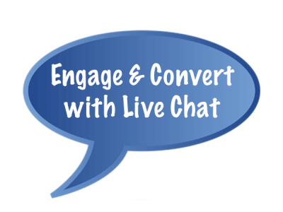 Engage and convert with live chat