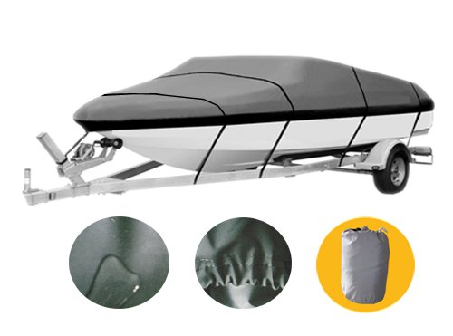 Brightent Boat Cover Heavy Duty 600D Three Sizes Water Proof Trailer Fishing Ski Covers