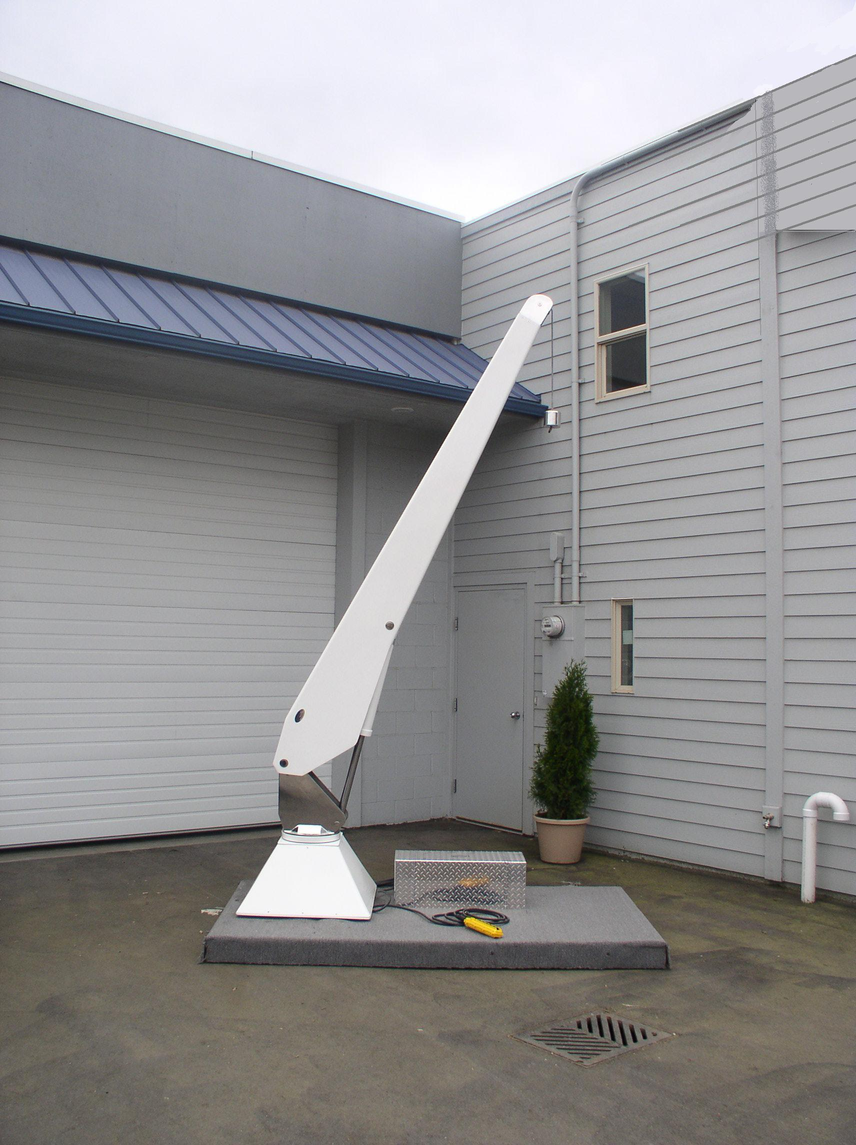 Olsson Mfg Crane Davits The RC 8 Cannon