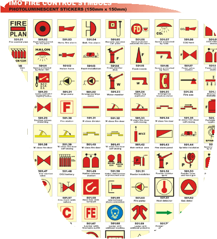 imo fire safety symbols