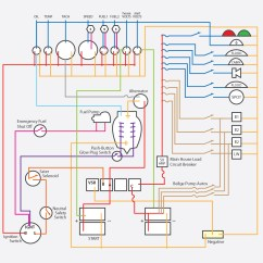 Marine Power Wiring Diagram Glock 17 Parts Houseboat Electrical Colors All Datamarine Diagrams Data Oreo Fire Safety