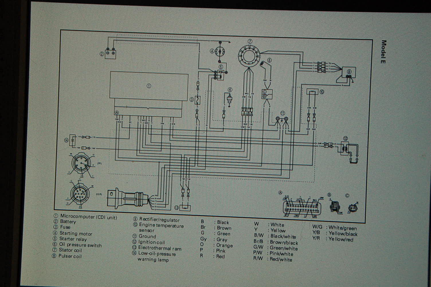 Wiring Also Mercury Outboard Ignition Wiring Diagram On Yamaha