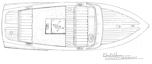 Changing a Runabout to an Open Utility Cockpit