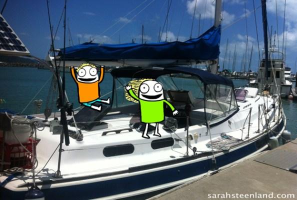 liveaboard sailing kids