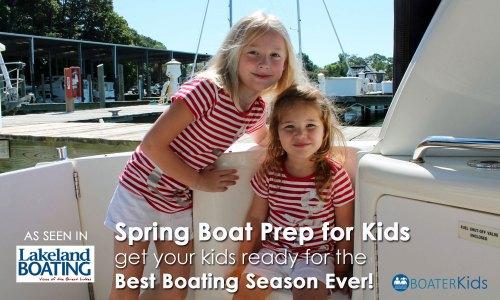 Spring Boat Prep for Kids