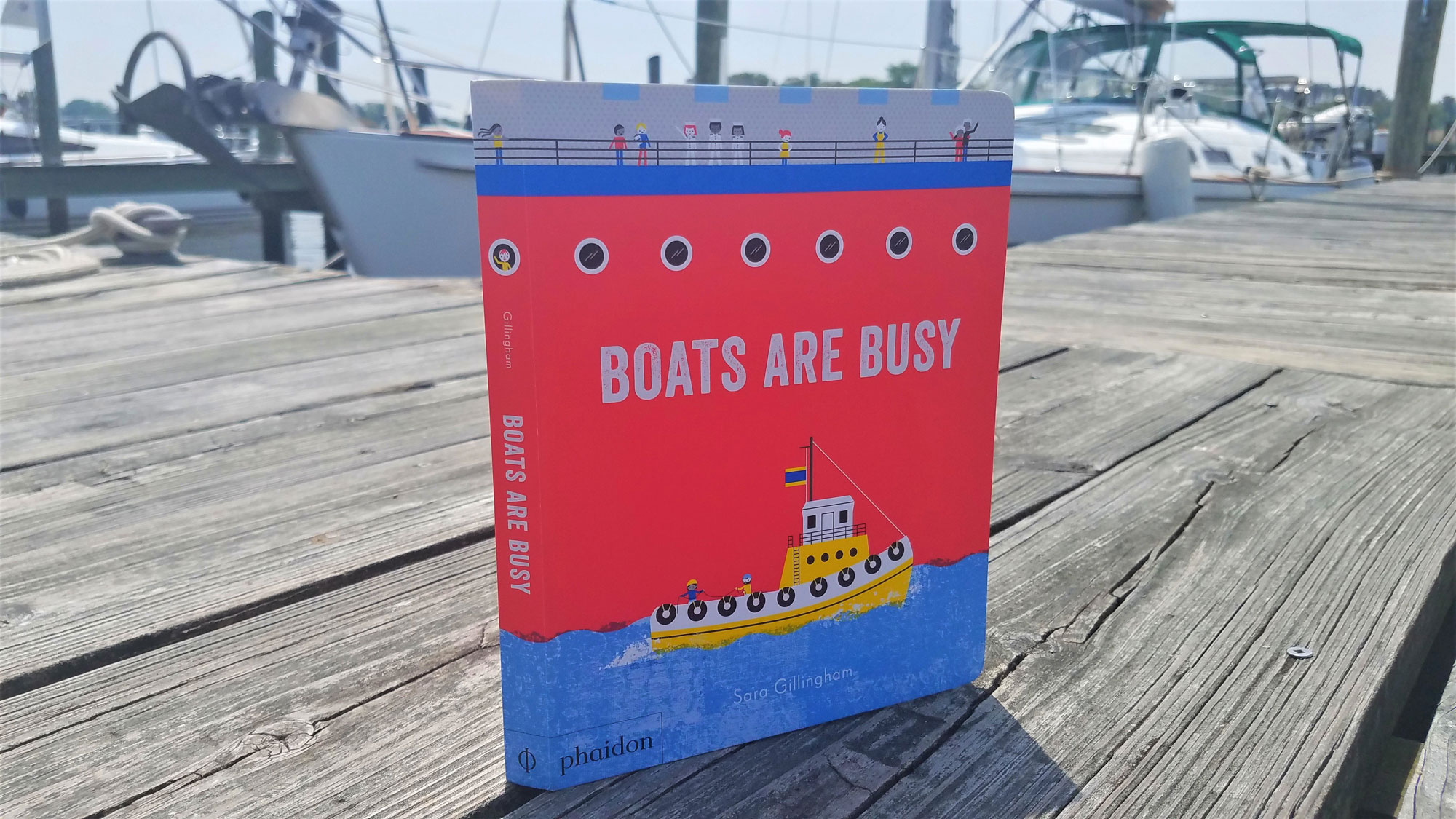 Boats Are Busy: Review of Children\'s Book of Work Boat Types ...
