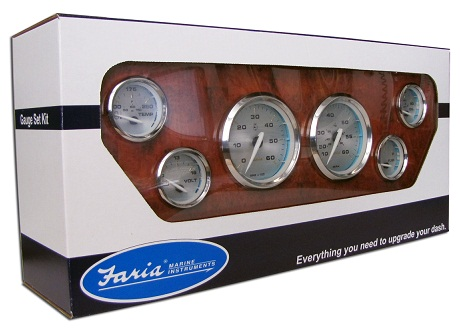 sea ray warranty 2003 pontiac sunfire radio wiring diagram faria kronos 6 gauge set - ktf024 instruments marine ...