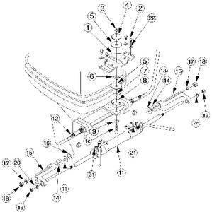 Teleflex HC5342 SeaStar Outboard Slide Plate Cylinder