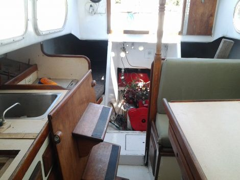 1964 Columbia 29ft Sloop Sailboat For Sale In City By The Sea TX