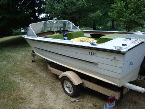 1972 18 Foot Starcraft Holiday Power Boat For Sale In
