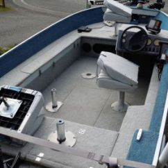 Boat Captains Chair Baby High Target 1993 16 Foot Sylvan Sea Troller Fishing For Sale In Mcchord Afb, Wa