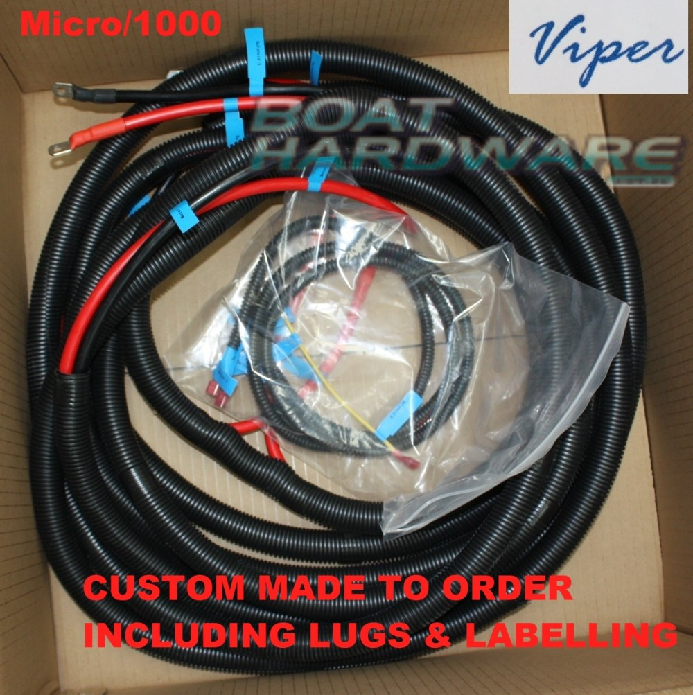 medium resolution of standard anchor winch wiring loom suits boats up to 6 metres 30034