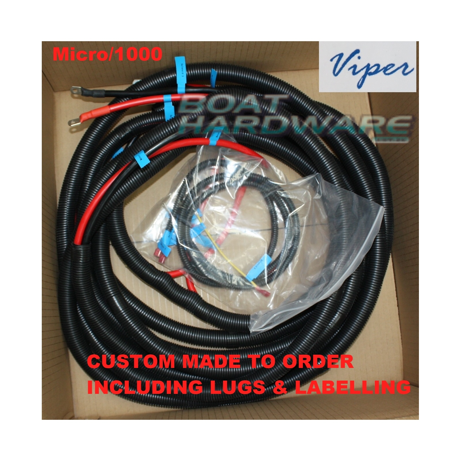 hight resolution of standard anchor winch wiring loom suits boats up to 6 metres 30034