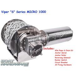 Viper Anchor Winch Wiring Diagram Swim Lane In Ppt Micro 1000 Electric S Series Bundle 30038 6mm60m