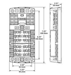 blue sea fuse block wiring diagram boat switch fuse panel kit w trolling motor wiring harness 1986794 [ 1000 x 1000 Pixel ]